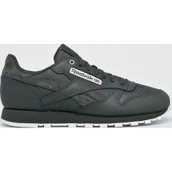 Reebok Classic - Buty Cl Leather Mu. Szare buty sportowe męskie Reebok Classic, z gumy. W wyprzedaży za 329.90 zł.