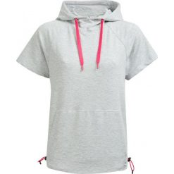 Bluza damska BLD603 - ciepły jasny szary - Outhorn. Szare bluzy damskie Outhorn, na lato, z bawełny. W wyprzedaży za 49.99 zł.