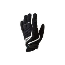Rękawiczki Na Rower Mtb 700 Długie Czarno-Białe B'twin. Czarne rękawiczki damskie B'TWIN. Za 79.99 zł.