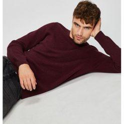 Medicine - Sweter Basic. Szare swetry przez głowę męskie MEDICINE, z bawełny, z okrągłym kołnierzem. Za 129.90 zł.