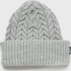 Wrangler - Czapka. Szare czapki i kapelusze damskie Wrangler, z dzianiny. Za 119.90 zł.