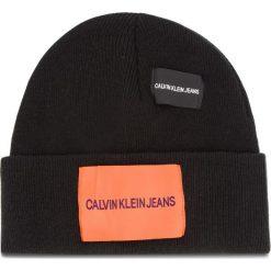 Czapka CALVIN KLEIN JEANS - J Patches Beanie W K40K400755 016. Czarne czapki i kapelusze męskie Calvin Klein Jeans. Za 179.00 zł.