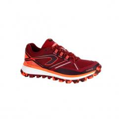 Buty do biegania KIPRUN TRAIL MT damskie. Czerwone obuwie sportowe damskie KALENJI, z gumy. W wyprzedaży za 219.99 zł.