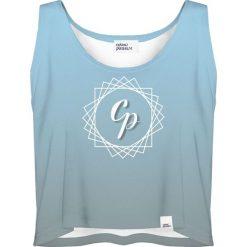 Colour Pleasure Koszulka damska CP-035 292 niebieska r. XL-XXL. T-shirty damskie Colour Pleasure. Za 64.14 zł.