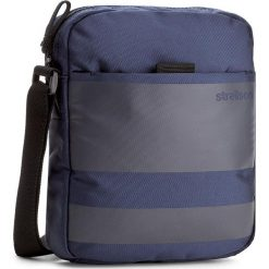 Saszetka STRELLSON - Bennett 4010002138 Dark Blue 402. Niebieskie saszetki męskie Strellson, z materiału, młodzieżowe. W wyprzedaży za 159.00 zł.
