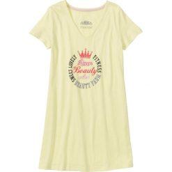 Koszula nocna bonprix żółty z nadrukiem. Koszule nocne damskie marki MAKE ME BIO. Za 34.99 zł.