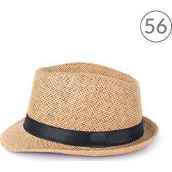 Art of Polo kapelusz unisex Klasyczny trilby na lato brązowo-czarny r. 56. Czapki i kapelusze męskie Art of Polo. Za 23.67 zł.