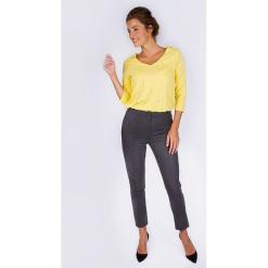 """Spodnie """"Boyish"""" w kolorze ciemnoszarym. Szare spodnie materiałowe damskie Scottage. W wyprzedaży za 108.95 zł."""