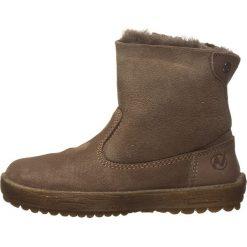 """Skórzane botki """"Can"""" w kolorze szarobrązowym. Botki dziewczęce Zimowe obuwie dla dzieci. W wyprzedaży za 207.95 zł."""