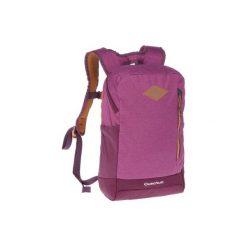 Plecak turystyczny N-Hiking 10 l. Fioletowe plecaki damskie QUECHUA, z materiału, młodzieżowe. Za 54.99 zł.