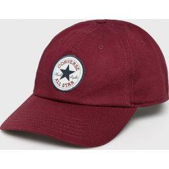 Converse - Czapka. Brązowe czapki i kapelusze damskie Converse, z bawełny. W wyprzedaży za 69.90 zł.