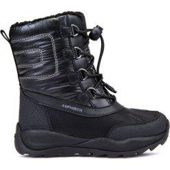 Kozaki GEOX J ORIZONT B GIRL ABX. Czarne buty zimowe dziewczęce Gino Rossi. W wyprzedaży za 279.90 zł.