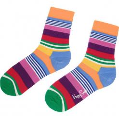 Skarpety Wysokie Unisex HAPPY SOCKS - MST01-3000 Kolorowy. Szare skarpety męskie Happy Socks, w kolorowe wzory, z bawełny. Za 34.90 zł.