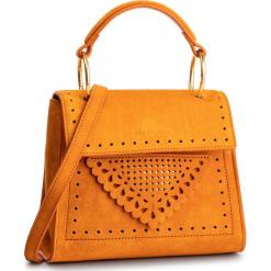 Torebka COCCINELLE - D10 B14 Lace Suede E1 D10 55 77 01 Flash Orange R12. Brązowe torebki do ręki damskie Coccinelle, ze skóry. Za 1,299.90 zł.