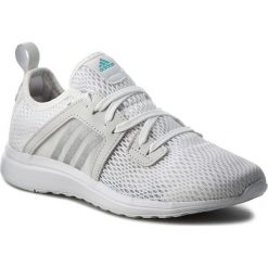 Buty adidas - Durama W BA7395 Ftwwht/Msilv. Białe obuwie sportowe damskie Adidas, z materiału. W wyprzedaży za 209.00 zł.