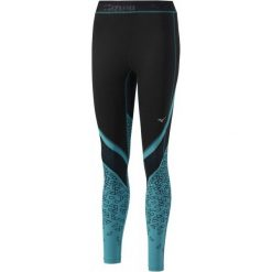 Mizuno Damskie Spodnie Impprinted Longtight/Black/Tile Blue S. Spodnie sportowe damskie marki Nike. W wyprzedaży za 189.00 zł.