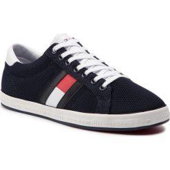 0e2531ef2063f Sneakersy TOMMY HILFIGER - Essential Flag Detail Sneaker FM0FM02202  Midnight 403. Półbuty damskie marki Tommy