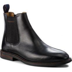 Sztyblety GANT - Ricardo 17651884 Black G00. Botki męskie marki Giacomo Conti. W wyprzedaży za 439.00 zł.