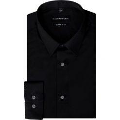 Koszula MICHELE KDCE000268. Czarne koszule męskie Giacomo Conti, z bawełny, z klasycznym kołnierzykiem. Za 169.00 zł.