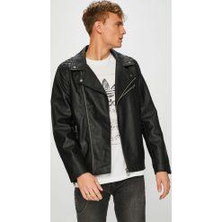 Guess Jeans - Kurtka. Czarne kurtki męskie Guess Jeans, z jeansu. Za 799.90 zł.