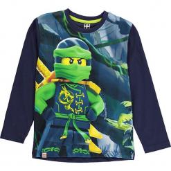 Koszulka w kolorze granatowym. Zielone t-shirty dla chłopców marki Lego Wear Fashion, z bawełny, z długim rękawem. W wyprzedaży za 42.95 zł.