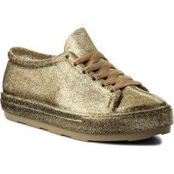 Półbuty MELISSA - Be Ad 31991 Glass Glitter Gold 52955. Żółte półbuty damskie Melissa, z materiału. Za 329.00 zł.