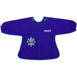 Baby Policeman - Śliniak z rękawami (GAD02299). Niebieskie śliniaki dla dzieci Baby Gadgets. Za 49.00 zł.