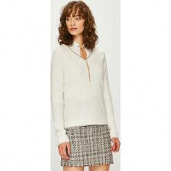 Vero Moda - Sweter Clair. Szare swetry damskie Vero Moda, z dzianiny. W wyprzedaży za 119.90 zł.