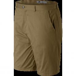 New Balance EMS61704HMP. Brązowe szorty męskie New Balance, w paski, z bawełny, klasyczne. W wyprzedaży za 119.99 zł.