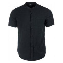 S.Oliver Koszula Męska Xxl Czarny. Czarne koszule męskie S.Oliver, z krótkim rękawem. Za 139.00 zł.