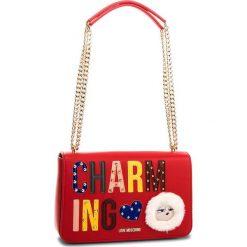 Torebka LOVE MOSCHINO - JC4266PP06KJ0500  Rosso. Czerwone torebki do ręki damskie Love Moschino, ze skóry ekologicznej. W wyprzedaży za 659.00 zł.
