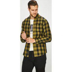 PRODUKT by Jack & Jones - Koszula 12130163. Szare koszule męskie PRODUKT by Jack & Jones, w kratkę, z tkaniny, button down, z długim rękawem. W wyprzedaży za 79.90 zł.