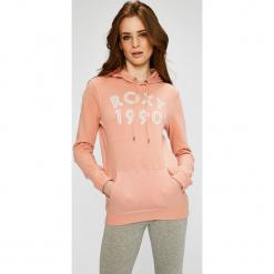 Roxy - Bluza. Szare bluzy damskie Roxy, z nadrukiem, z bawełny. W wyprzedaży za 129.90 zł.