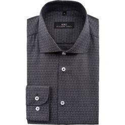 Koszula RICCARDO 15-01-30. Szare koszule męskie Giacomo Conti, paisley, z bawełny, z włoskim kołnierzykiem, z długim rękawem. Za 229.00 zł.