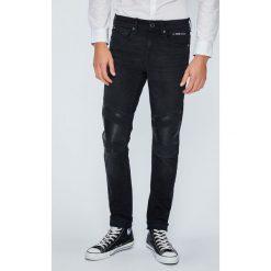 Guess Jeans - Jeansy Jay. Czarne jeansy męskie Guess Jeans. W wyprzedaży za 479.90 zł.