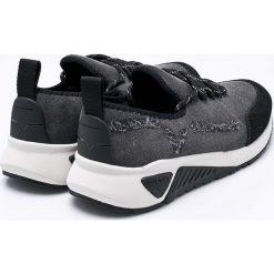 Diesel - Buty. Czarne buty sportowe męskie Diesel. W wyprzedaży za 449.90 zł.
