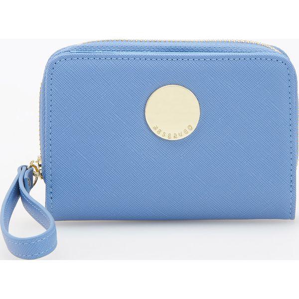 5ae0d3297e702 Portfel - Niebieski - Portfele damskie marki Reserved. W wyprzedaży ...