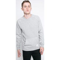 Reebok - Bluza. Szare bluzy męskie Reebok, z bawełny. W wyprzedaży za 149.90 zł.