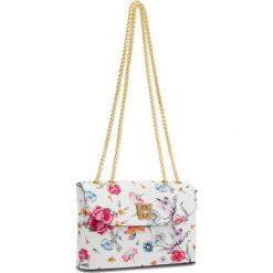 Torebka CREOLE - K10513 Kwiatowy. Białe torebki do ręki damskie Creole, ze skóry. W wyprzedaży za 149.00 zł.