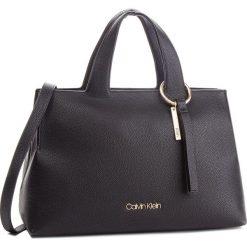 Torebka CALVIN KLEIN - Neat Large Tote K60K604420 001. Czarne torebki do ręki damskie Calvin Klein, ze skóry ekologicznej. Za 799.00 zł.