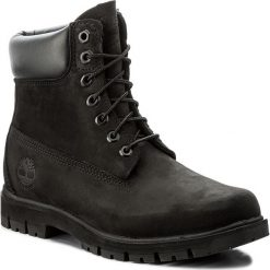Trapery TIMBERLAND - Radford 6 Boot Wp A1JI2/TB0A1JI20011 Black. Czarne śniegowce i trapery męskie Timberland, z gumy. W wyprzedaży za 679.00 zł.