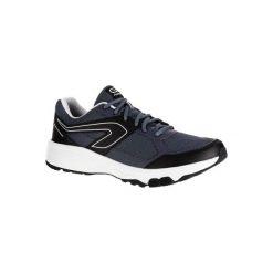 Buty do biegania RUN CUSHION GRIP męskie. Niebieskie buty sportowe męskie KALENJI, z gumy. Za 79.99 zł.