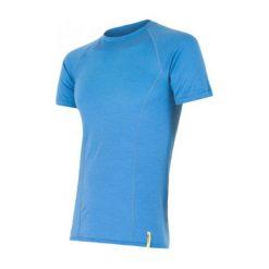 Sensor Koszulka Termoaktywna Merino Wool Active M Blue Xl. Niebieskie koszulki sportowe męskie Sensor, z materiału, z krótkim rękawem. Za 195.00 zł.