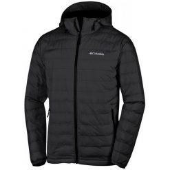 Columbia Kurtka Męska Powder Lite Hooded Jacket Black M. Czarne kurtki sportowe męskie Columbia, z włókna. Za 525.00 zł.