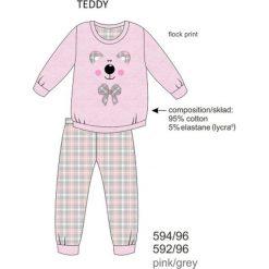 Piżama dziewczęca DR 594/96 Teddy Różowa r. 116. Czerwone bielizna dla dziewczynek Cornette. Za 49.87 zł.