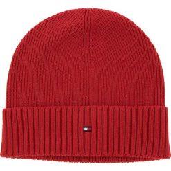 Czapka TOMMY HILFIGER - Pima Cotton Cashmere AM0AM03983 614. Czerwone czapki i kapelusze męskie Tommy Hilfiger. Za 129.00 zł.
