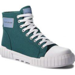 Trampki CALVIN KLEIN JEANS - Biagio S1753 Bottle Green. Zielone trampki męskie Calvin Klein Jeans, z gumy. Za 569.00 zł.