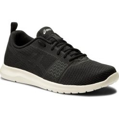 Buty ASICS - Kanmei Mx T849N Black/Black/Birch 9090. Czarne buty sportowe męskie Asics, z materiału. W wyprzedaży za 179.00 zł.