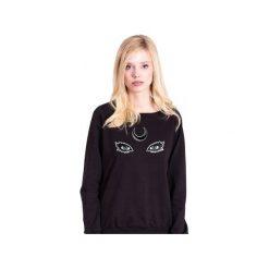 Księżycowa Bluza w Czerni. Czarne bluzy damskie Heroesque, z bawełny. Za 175.00 zł.