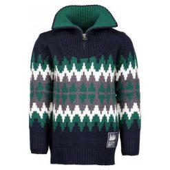 Blue Seven Wzorzysty Sweter Chłopięcy, 104, Niebieski. Swetry dla chłopców marki Reserved. Za 95.00 zł.